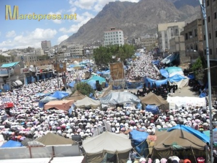 جمعة الوفاء للشهداء اليمن (صور